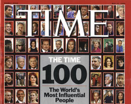 """""""Time"""" y los 100 personajes más influyentes"""