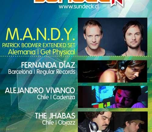 Festival Sundeck trae a M.A.N.D.Y. en Club del Sol