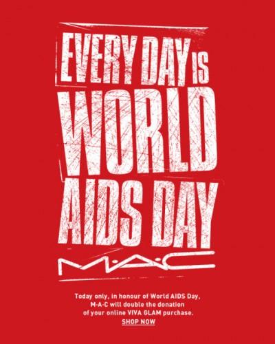Celebra el día internacional de la lucha contra el VIH/Sida con MAC y VIVA GLAM