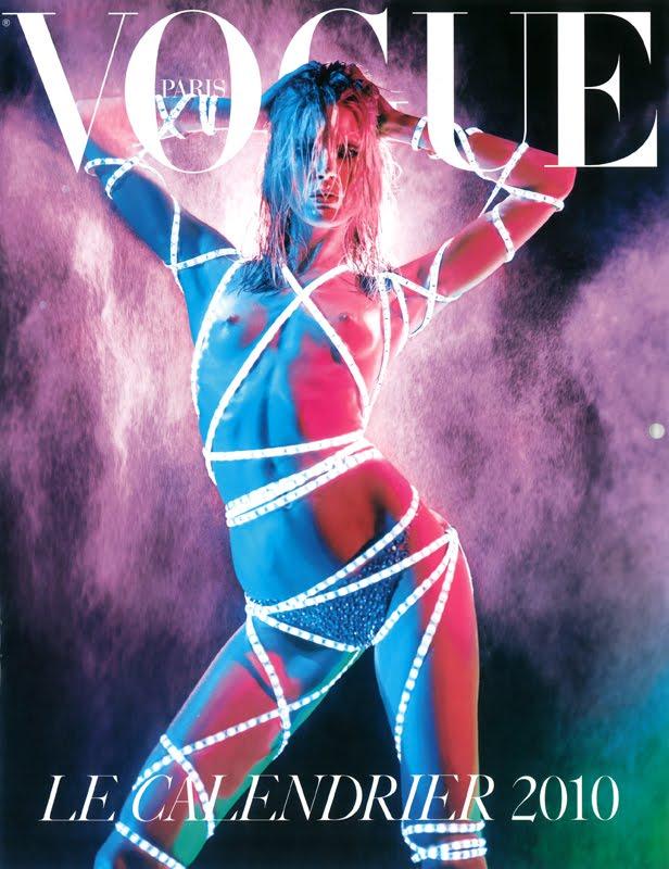 Calendario Vogue París 2010