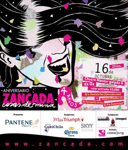 Fiesta aniversario Zancada