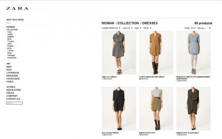 Zara store online