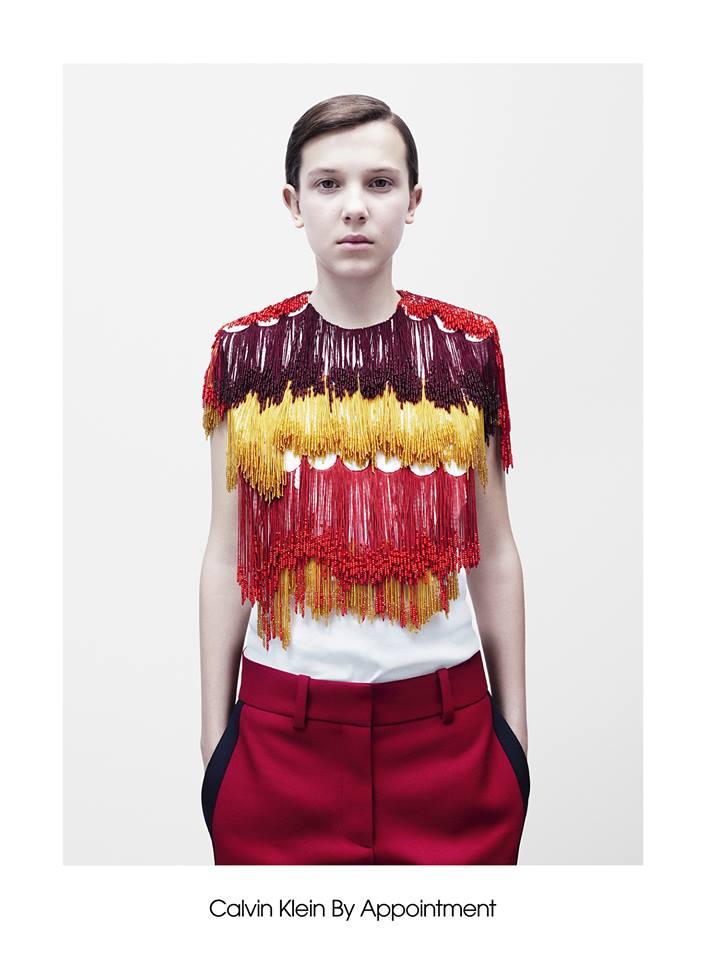 Raf Simons para Calvin Klein, el esperado debut