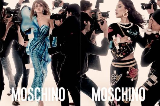 Las hermanas Hadid son la cara de la nueva campaña de Moschino