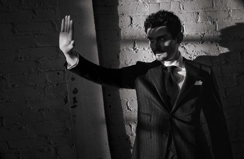 Damien Chazelle en L'Uomo Vogue, 2017