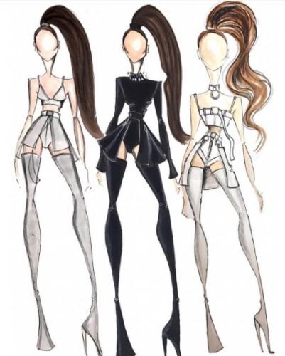 Bryan Hearns, el diseñador tras los atuendos de Ariana Grande en el tour Dangerous Woman