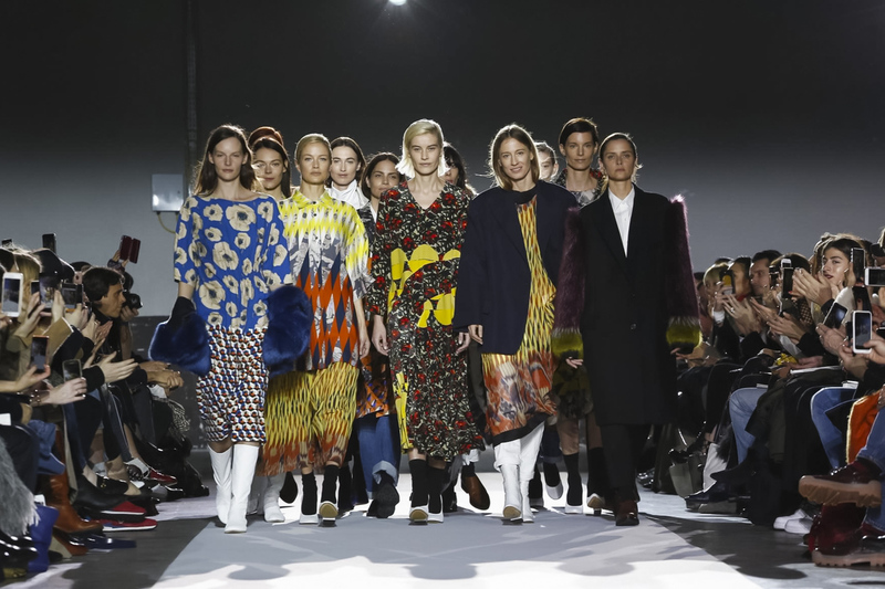 El show número 100 de Dries Van Noten