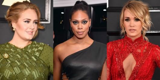 Seis tipos de maquillaje que vimos en los Grammy y que podrían ser tendencia este 2017