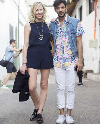 Mila Junge y Francisco Silva