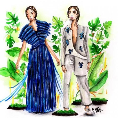 MULIERR, la firma colombiana que mezcla lo femenino con diseños geométricos