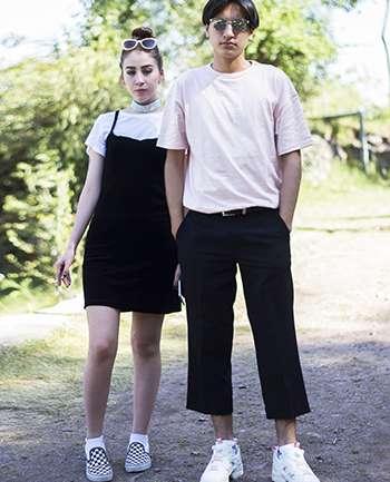 Victor Quezada y Valentina Amigo