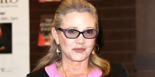 A los 60 años muere Carrie Fisher, la Princesa Leia de Star Wars