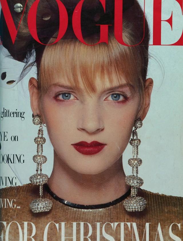 Flashback: Uma Thurman en su época de modelo