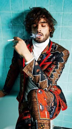 Marlon Teixeira, el modelo que Vogue Francia eligió para hacer un culto al cuerpo de los brasileños