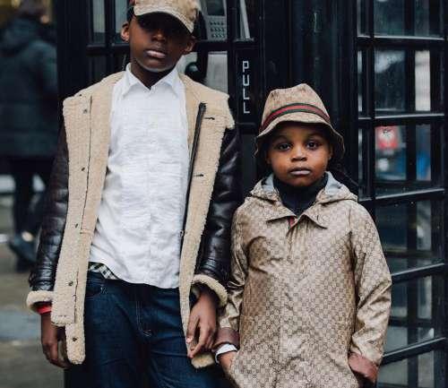 Coco y Just Marcolino son los nuevos fashionistas de seis años