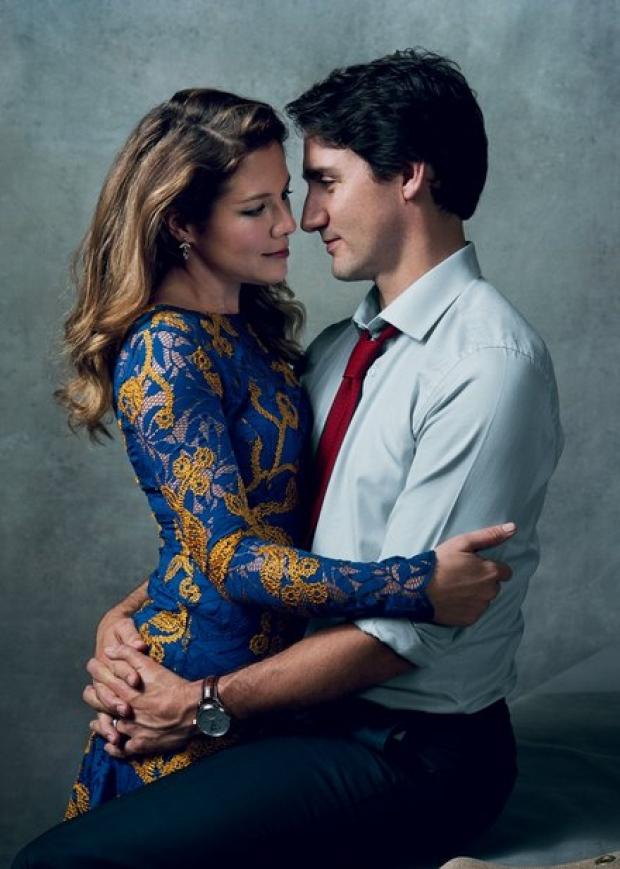 Sophie-Grégoire y Justin Trudeau, la nueva pareja favorita de la política