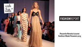 VLC en Fashion Week Panamá 2013: Renata Lozano