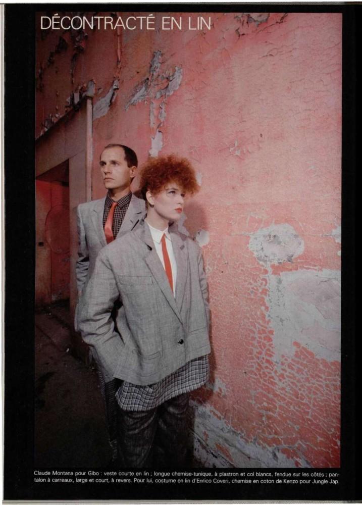 Fotografía de moda de los '80: Gilles Serrand