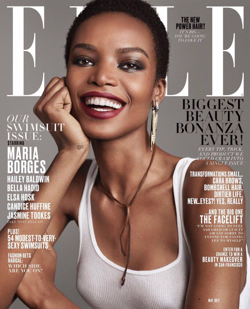 Maria Borges, la primera modelo africana en aparecer en la portada de Elle en el siglo XXI