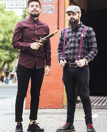 Gary Okus y Eduardo Chapardy