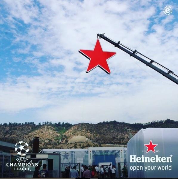 Looks de los famosos en eventos Heineken alrededor del mundo