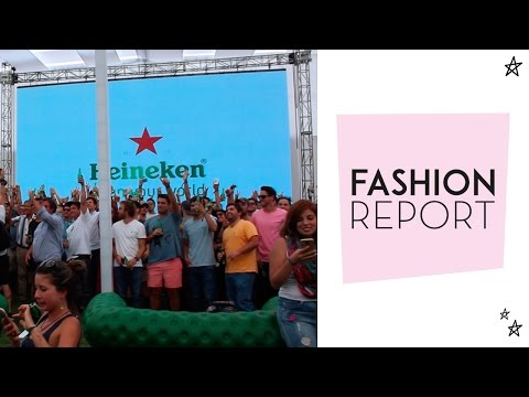 Fashion Report: Champions Live Chile por Heineken