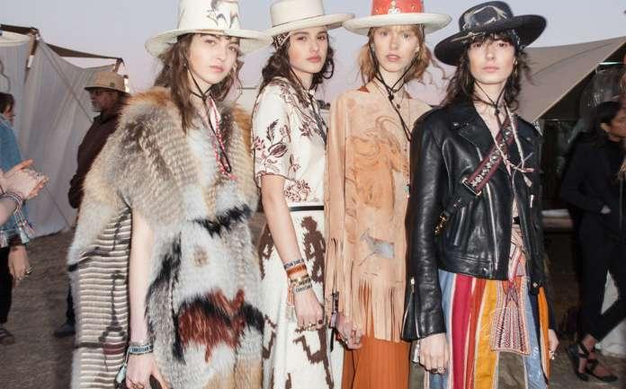 Dior Resort 2018: Bajo la influencia del Oeste norteamericano