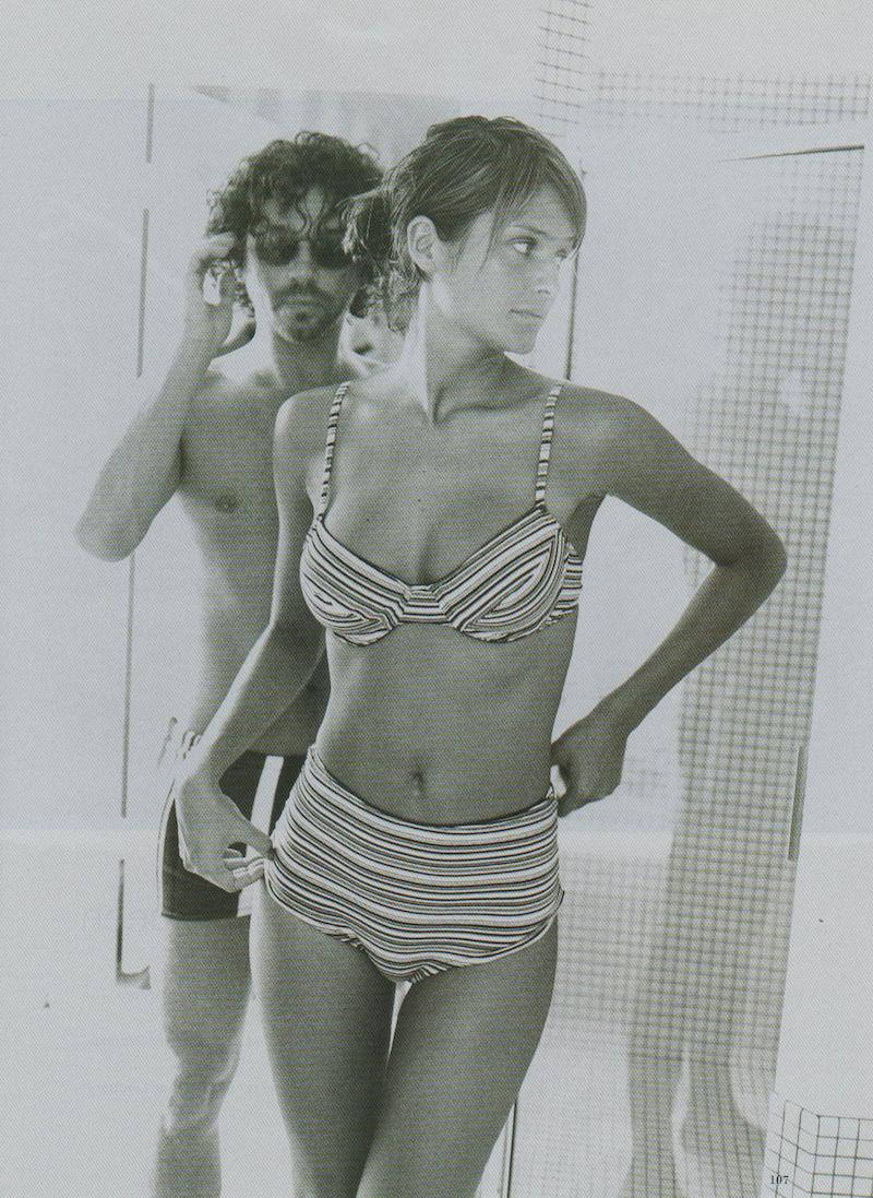 Helena Christensen y Michael Hutchence, un amor capturado por las revistas