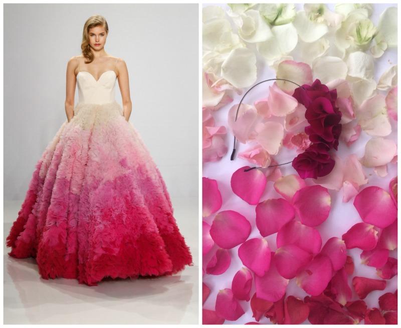 Trajes estilo ombré y dip dye, la próxima gran tendencia en novias ...