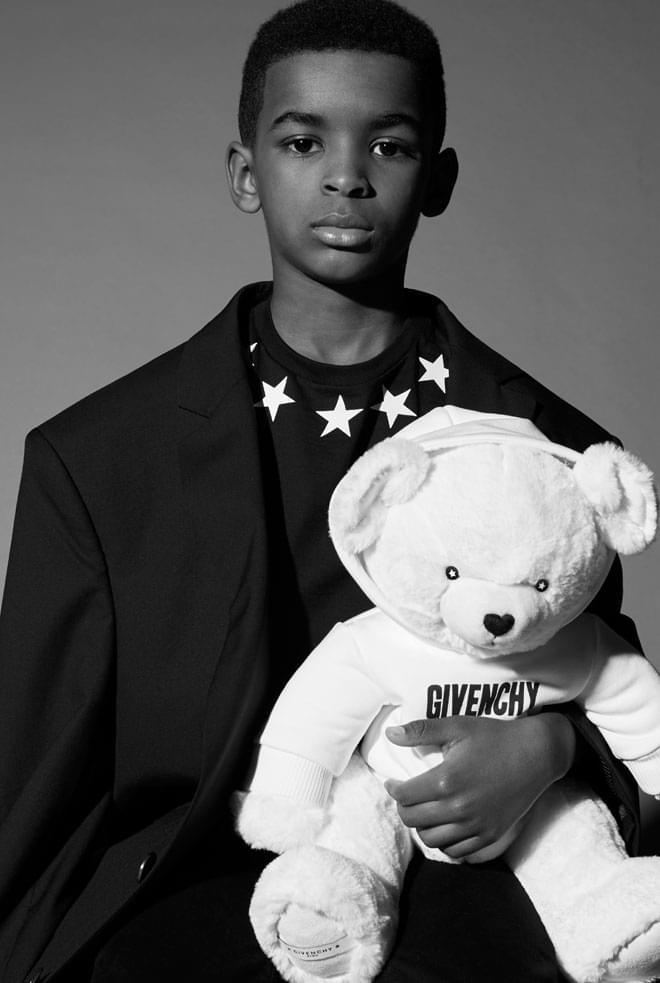 Givenchy presenta su primera colección para niños