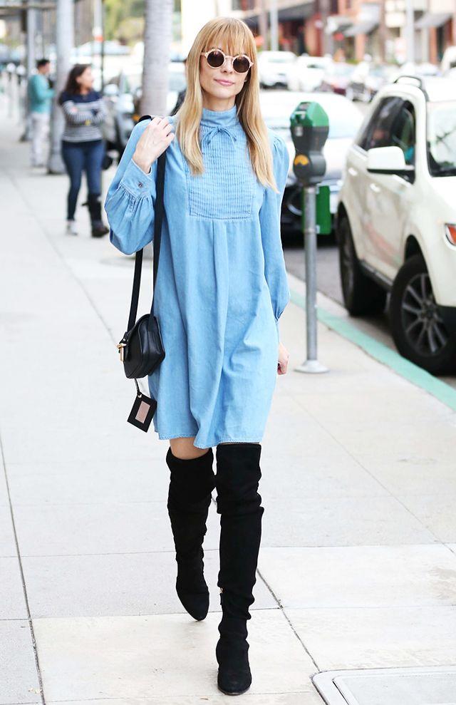 Jaime King, de modelo a reina del street style