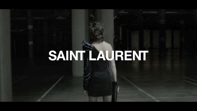 VLC ♥ Charlotte Gainsbourg para Saint Laurent