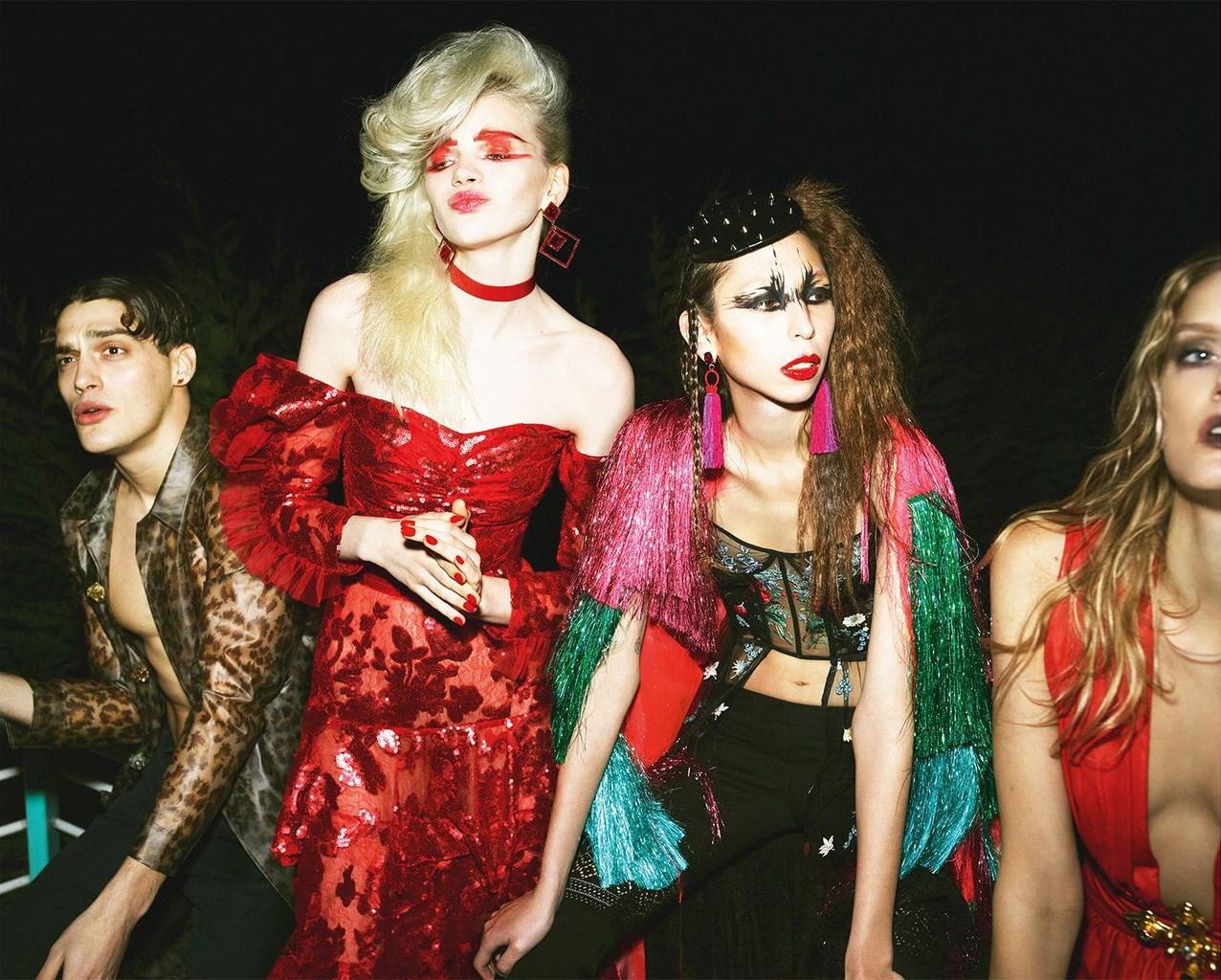 Las noches locas de Vogue UK, 2017