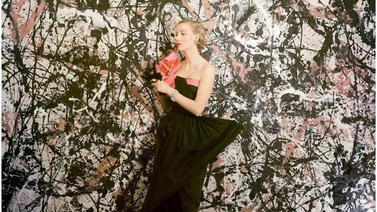 La influencia de Jackson Pollock en la moda