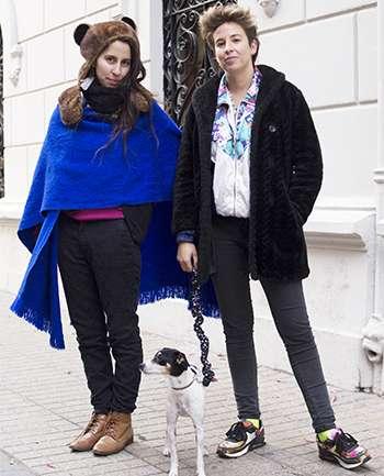 Andrea Dominguez y Paz Quintana