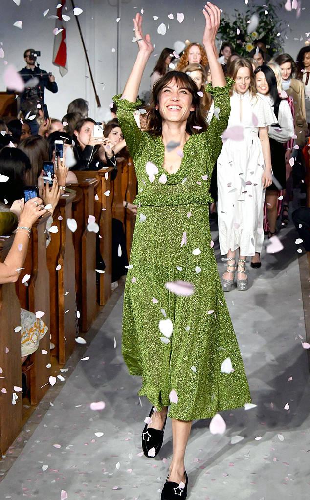El debut de Alexa Chung con su propia marca de ropa