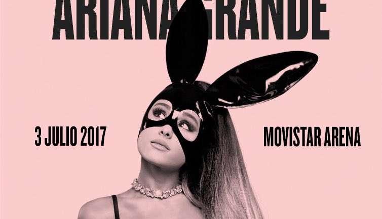 Concurso: VisteLaCalle te lleva al concierto de Ariana Grande en Chile