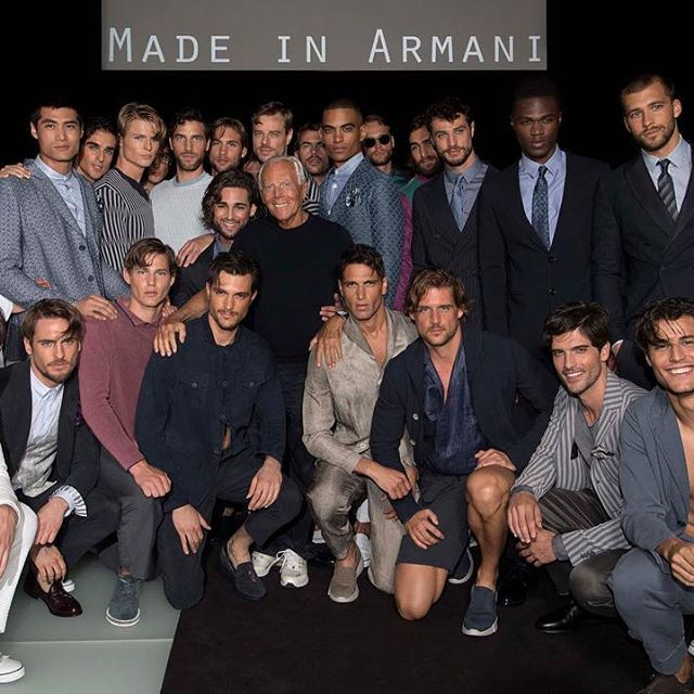 VLC Man: La colección de Giorgio Armani SS18