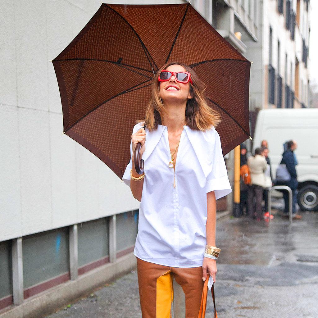 15 looks con paraguas, el accesorio perfecto para los días de lluvia