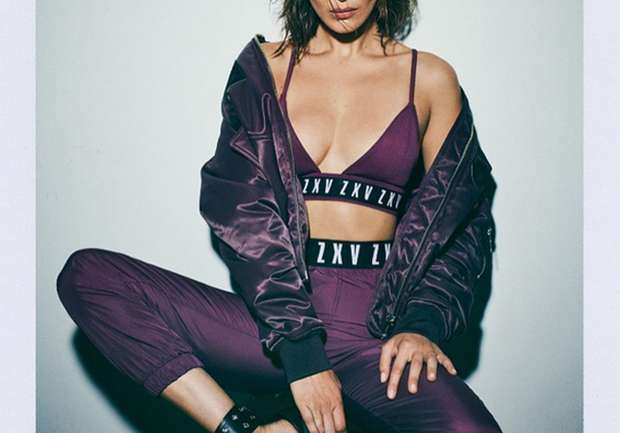 Bella Hadid como rostro de la colaboración de Zayn Malik con Versus Versace
