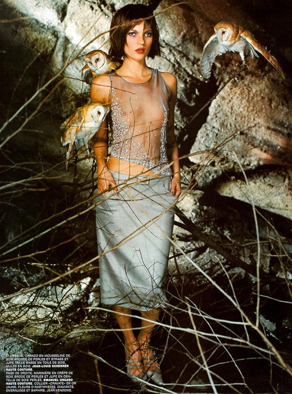 Kate Moss + Mario Testino + Carine Roitfeld, 1999