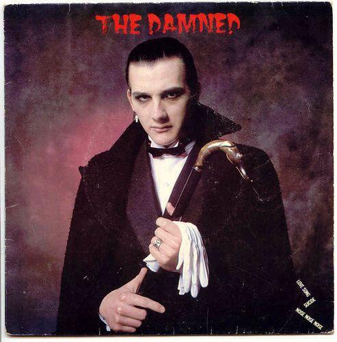 Cuando el punk y lo gótico se encuentran: El estilo de Dave Vanian de The Damned