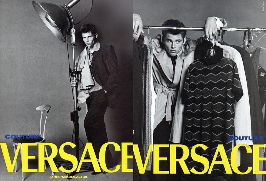 James Marsden, Ashton Kutcher y Josh Duhamel como modelos