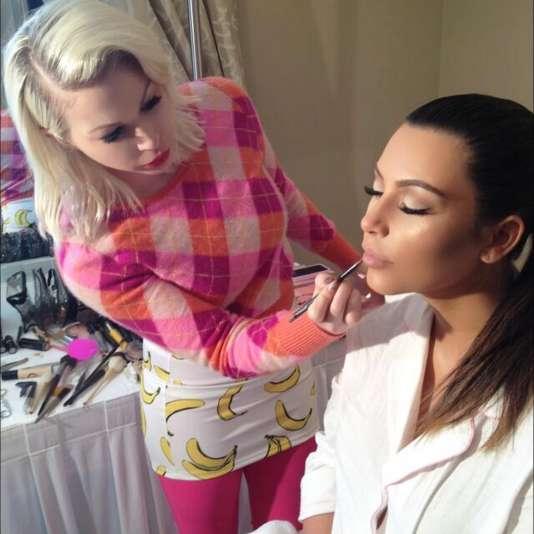 Joyce Bonelli, la makeup artist de las Kardashians