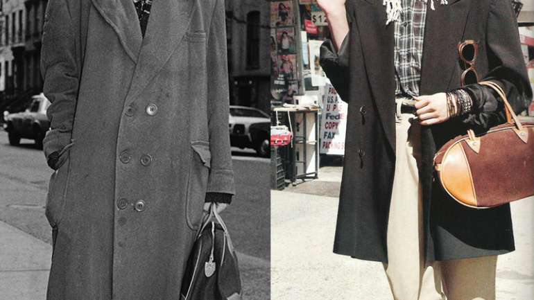 Inspiraciones de moda: Sasha Pivovarova como Madonna, 2011