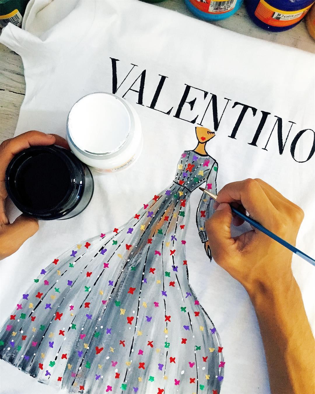 Uno Uno, la marca mexicana que pinta en sus prendas los diseños de las grandes casas de moda