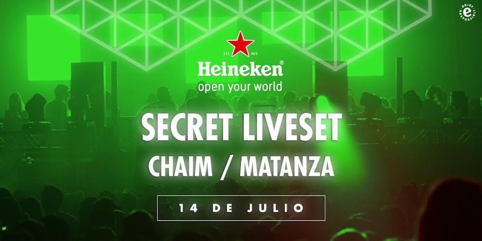 Heineken Secret LiveSet: Las fiestas privadas que sorprenden al mundo