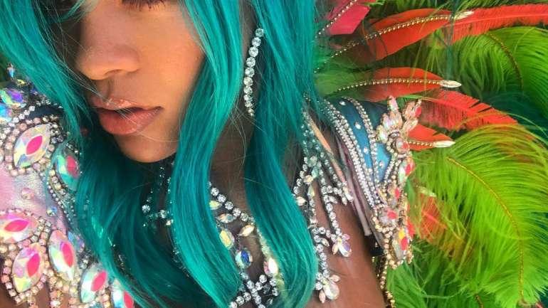 Los mejores trajes de Rihanna en Crop Over Festival