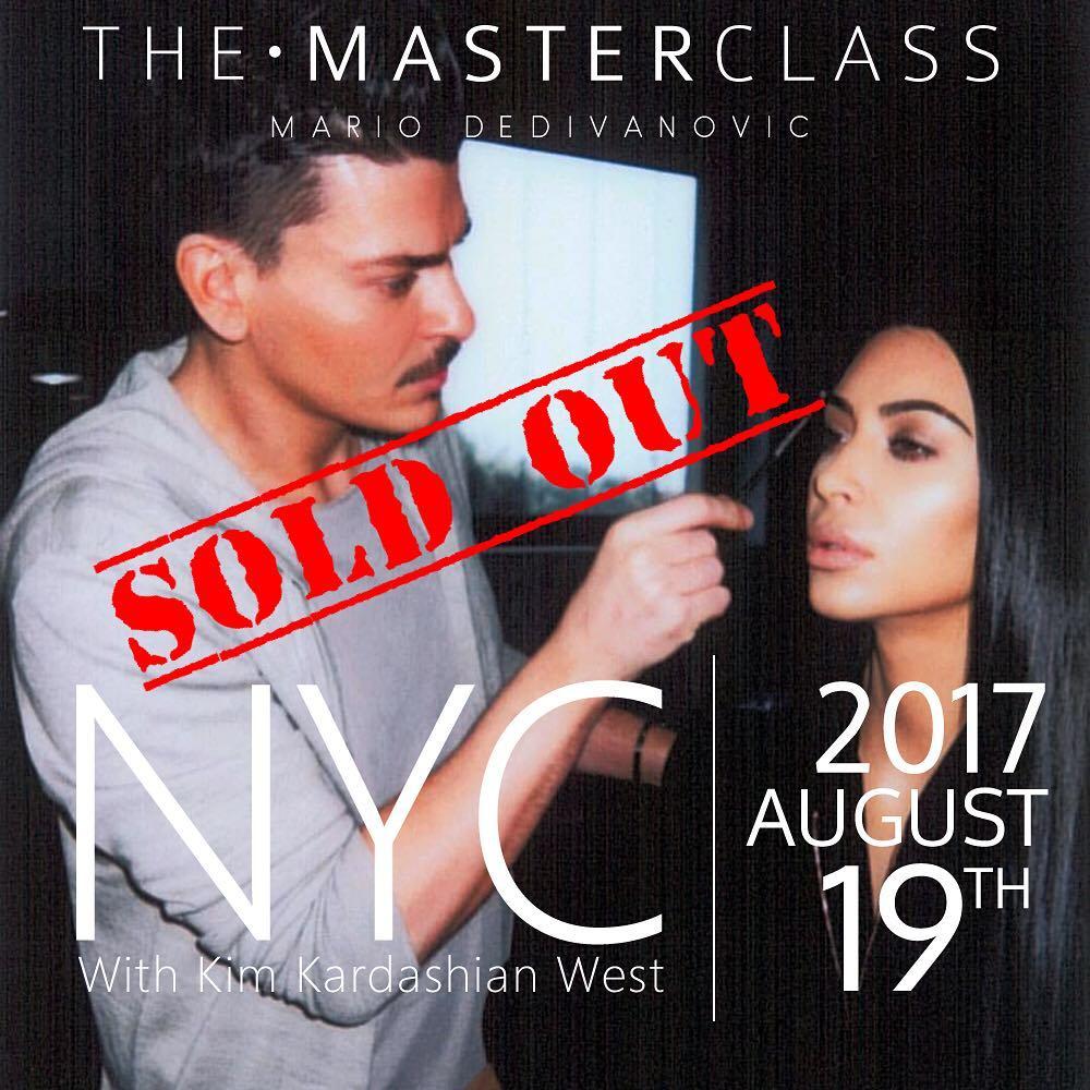 Tips de la Master Class de Mario Dedivanovic, el maquillador de Kim Kardashian West