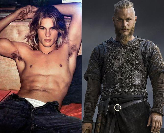 Travis Fimmel, de modelo de Calvin Klein a protagonista de Vikings